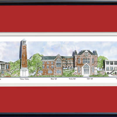 U of AL FRAMED